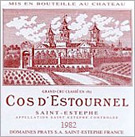 Chateau Cos D Estournel 1982